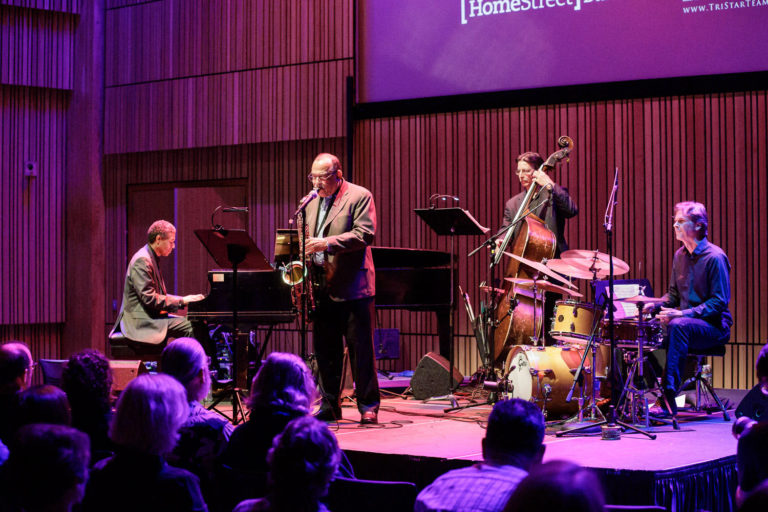 Ernie Watts with New Stories, at the 2019 Ballard Jazz Festival Mainstage Concert.