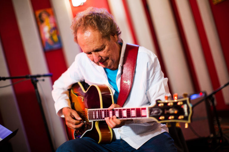 Lee Ritenour in the KNKX studios.