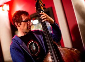 Trio Subtonic in the KNKX Studios.