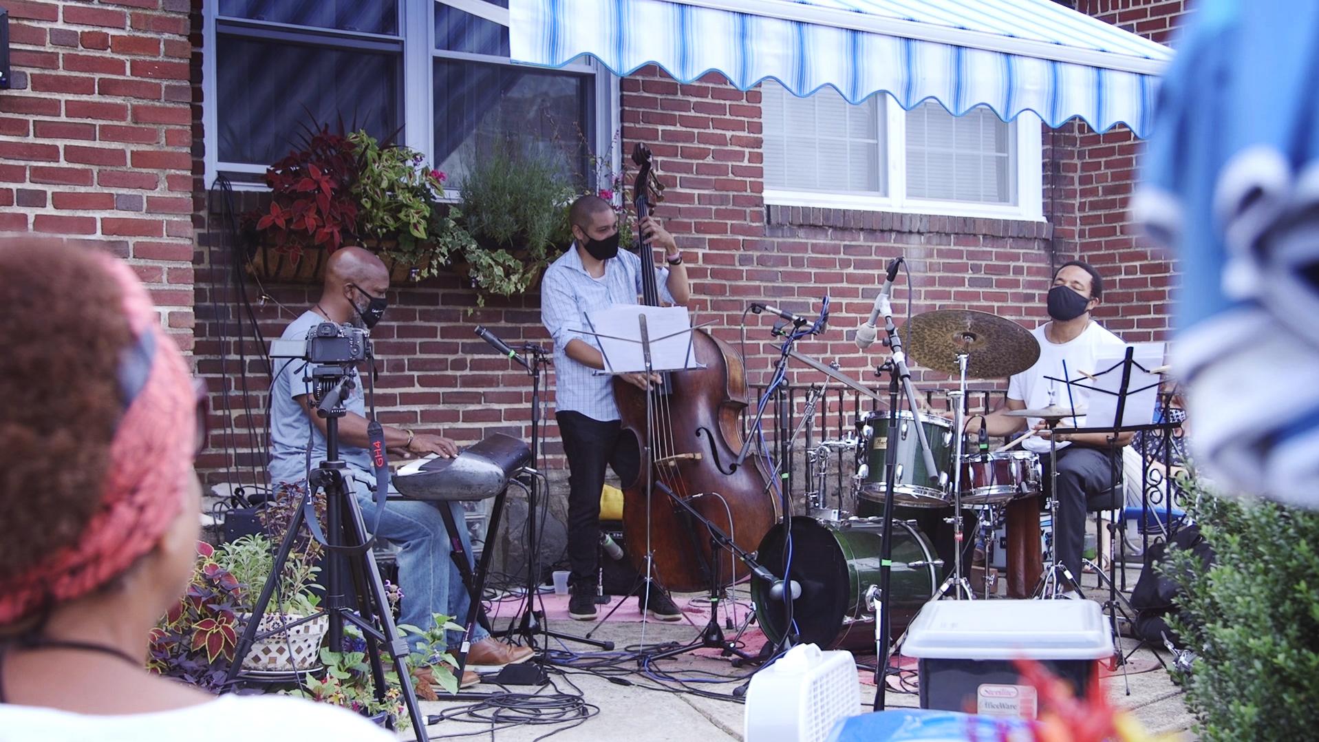 Orrin Evans Trio: Orrin Evans: keys; Luques Curtis: bass; Nasheet Waits: drums.